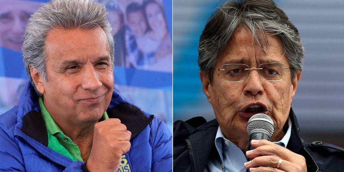Lenin Moreno vs. Guillermo Lasso
